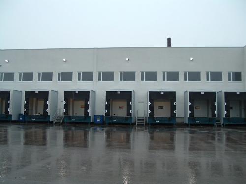 Loading facilities in Riga